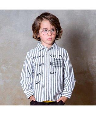 ネット限定 ロゴ長袖シャツ