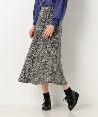 小花マーメイドスカート