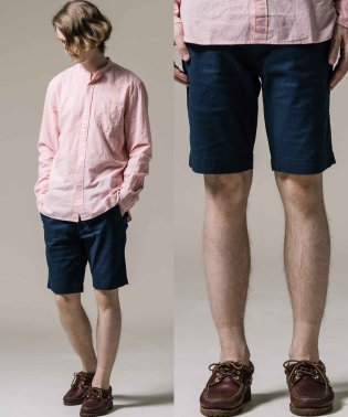 502T TAPER CHINO SHORTS NAVY BLAZER COT