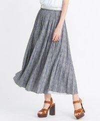 【セットアップ対応商品】グレンチェック柄ロングスカート