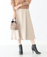 Demi-Luxe BEAMS / トリアセテート サーキュラースカート