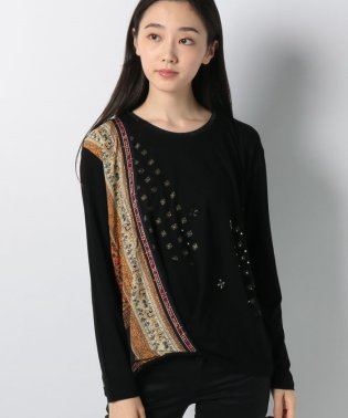 WOMAN KNIT T-SHIRT LONG SLEEVE
