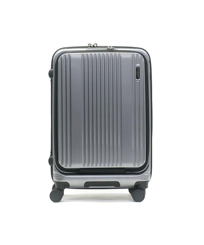 (BERMAS/バーマス)【日本正規品】バーマス スーツケース BERMAS キャリーケース フロントオープン INTER CITY インターシティー 53L 60501/ユニセックス シルバー