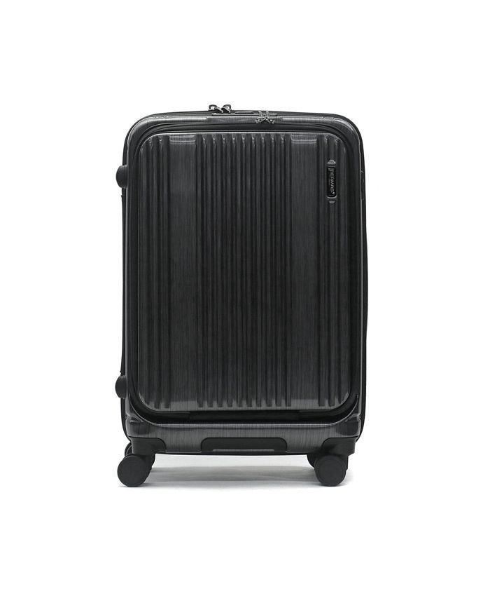 (BERMAS/バーマス)【日本正規品】バーマス スーツケース BERMAS キャリーケース フロントオープン INTER CITY インターシティー 53L 60501/ユニセックス ブラック
