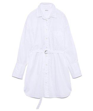 ベルト付ロングシャツ