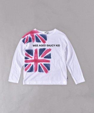 ユニオンジャックエアブラシプリントTシャツ(110cm~130cm)