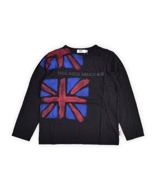ユニオンジャックエアブラシプリントTシャツ(140cm~160cm)