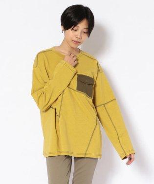 ステッチング ポケット Tシャツ/STITCHING POCKET T-SHIRT
