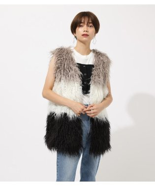 MIX ECO FUR VEST