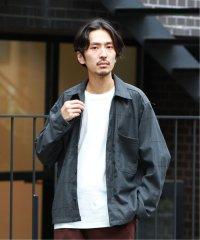 WASHABLE T/R K-FIELDシャツジャケット