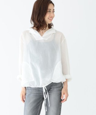 Demi-Luxe BEAMS / フード付 オーバーシャツ