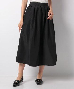 後ろジップギャザースカート