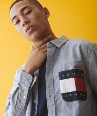 フラッグロゴポケットシャツ