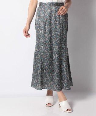 【セットアップ対応商品】フラワーマーメードスカート