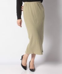 M ハリヌキロングタイトスカート
