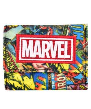 マーベル MARVEL コミック柄シリーズ 3つ折り財布 BK RD ポリナイロン