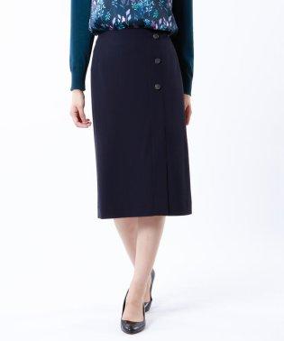 【接触冷感】【ウォッシャブル】強撚ガスポンチクールスカート