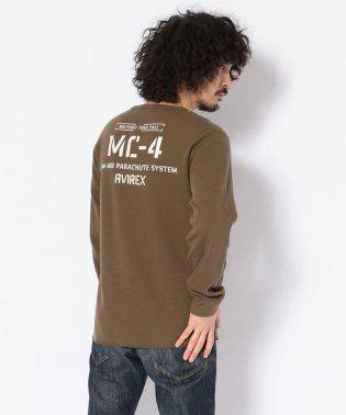ハニカムワッフル 長袖Tシャツ/ HONEYCOMB WAFFLE T-SHIRT