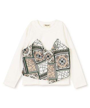 ビスチェ風長袖Tシャツ