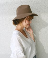 【SHIPS for women】GRILLO:17FW NAKAORE HAT