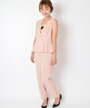 【SHIPS for women】(9999)LB:SCALLOP ALLINONE