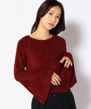 【SHIPS for women】(2432)BS:VELOR KNIT