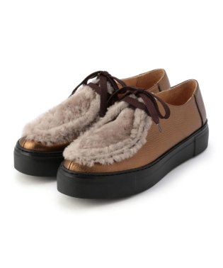 【liflattie ships】PASCUCCI:FUR TIROLEAN SHOES