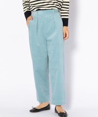 【SHIPS for women】(3040)WC:WIDE CORDUROY TPD PT