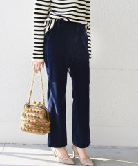 【SHIPS for women】(3340)WC:CORDUROY FLARE PT