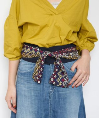 【SHIPS for women】(9999)PRINT GUM BELT