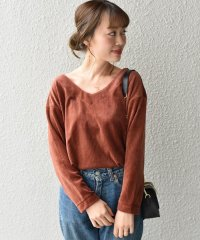 【SHIPS for women】(3439)WC:WIDE CORDUROY V/N P