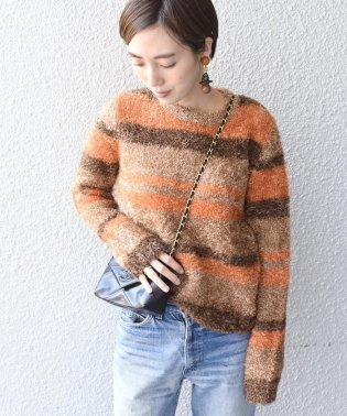 【SHIPS for women】(3653)PSO:Lame border Pullover