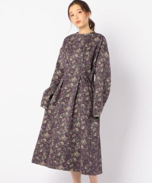 【SHIPS for women】08sircus:FLR NEEDLE PUNCH DRES