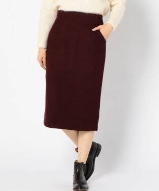 【SHIPS for women】(3744)WCO:RIB JERSY TIGHT SK