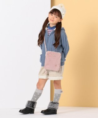 【KIDS雑貨】ファーポシェット バッグ
