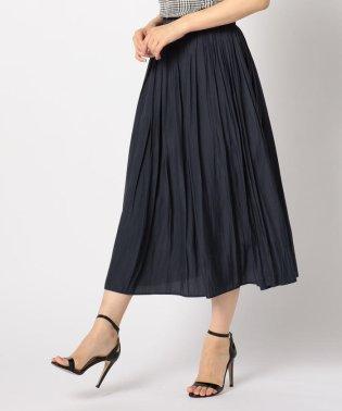 [新色追加]クラッシュサテンロングスカート
