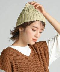 あぜ編みニット帽