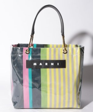 【MARNI】トートバッグ/MEDIUM SQUARE SHOPPING【PINK CANDY】