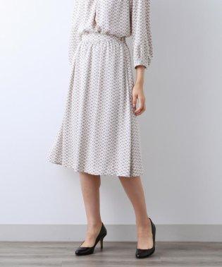 【Sサイズ~】モノトーンジオメトリー スカート