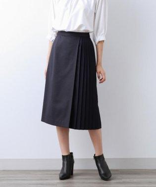 【Sサイズ~】チェックストレッチ プリーツコンビスカート