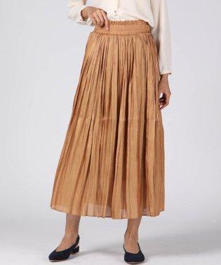 シャイニ―プリーツスカート