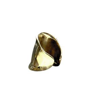 フォコン FAUCON ワイドブラスリングレディース リング 指輪 真鍮 シルバー ゴールド ニッケルフリー FAUCON フォコン ワイド 幅広 指輪 ゆびわ