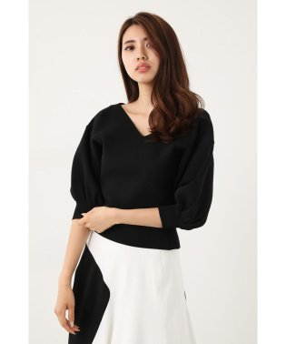 volume Sleeve Knit TOP