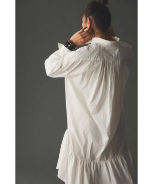 FRILLS  SHIRTS DRESS