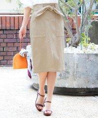 動けるストレッチタイトスカート (ミディアム)