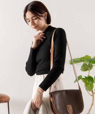 WEGO/リブハイネックセーター