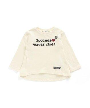 チェーン刺繍ロゴTシャツ