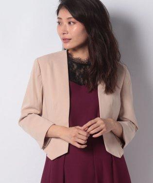 【ドレスライン】カラーレスジャケット