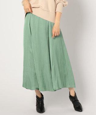 割繊フレアスカート