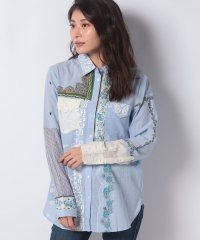 WOMAN WOVEN SHIRT LONG SLEEVE